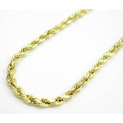10k Yellow Gold Skinny Di...