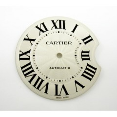 Ladies Original Cartier Ballon Bleu Silver Dial Part