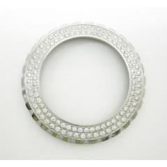 Ladies Custom Made Chanel J12 White Stainless Steel Diamond Bezel 1.10ct