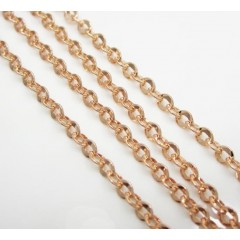 14k Solid Rose Gold Diamo...