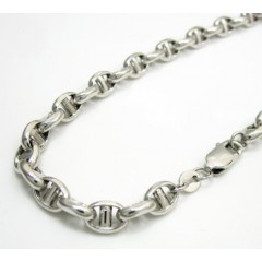 14k White Gold Gucci Puff...