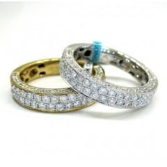 18k Gold Diamond Unisex W...