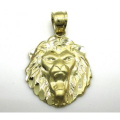 10k Yellow Gold Mini Lion...