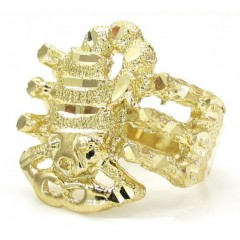 10k Yellow Gold Scorpio Zodiac Ring
