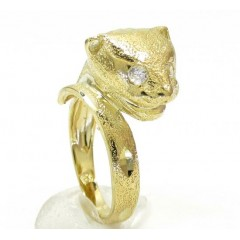 10k Yellow Gold Panther H...