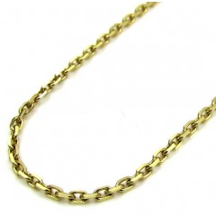 10k Yellow Gold Skinny Ca...