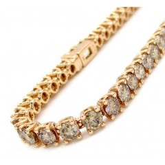 18k Rose Gold Champagne D...