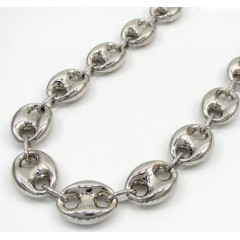Sterling Silver Gucci Puff Chain 30 Inch 12.3mm
