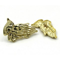10k Yellow Gold Small Pra...