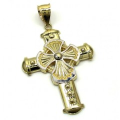 10k Yellow Gold Medieval Cross