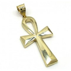 10k Yellow Gold Ankh Large Cross