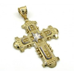 10k Yellow Gold Fancy Medieval Cross
