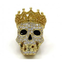 Sterling Silver Crown Sku...
