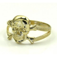 10k Yellow Gold Skeleton ...