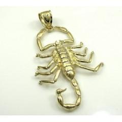 10k Yellow Gold Scorpion Pendant