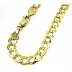 14k Yellow Gold Diamond C...