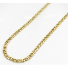 10k Yellow Gold Skinny Pu...
