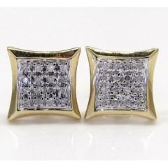 10k Gold 4 Row Diamond Ki...