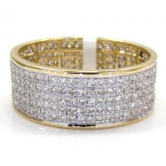 14k Yellow Gold Diamond F...