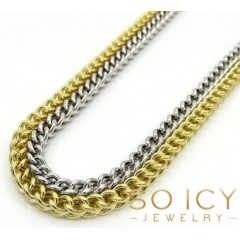 14k Gold Hollow Box Franco Chain 20-34 Inch 3.5mm