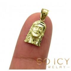 10k Yellow Gold Mini Jesu...