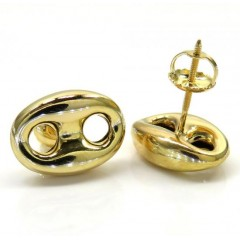 10k Yellow Gold Small Puf...