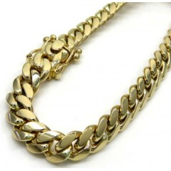 14k Yellow Gold Solid Mia...