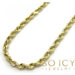 14k Yellow Gold Skinny Di...