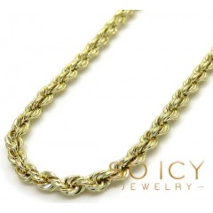 14k Yellow Gold Skinny Sm...