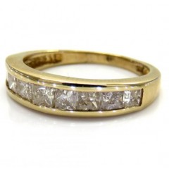 10k Yellow Gold Princess ...
