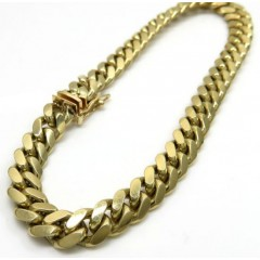 10k Yellow Gold Solid Mia...