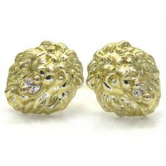 10k Yellow Gold Small Cz ...