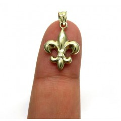 10k Yellow Gold Mini Saints Symbol Charm