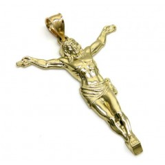 10k Yellow Gold Medium Hanging Jesus Charm