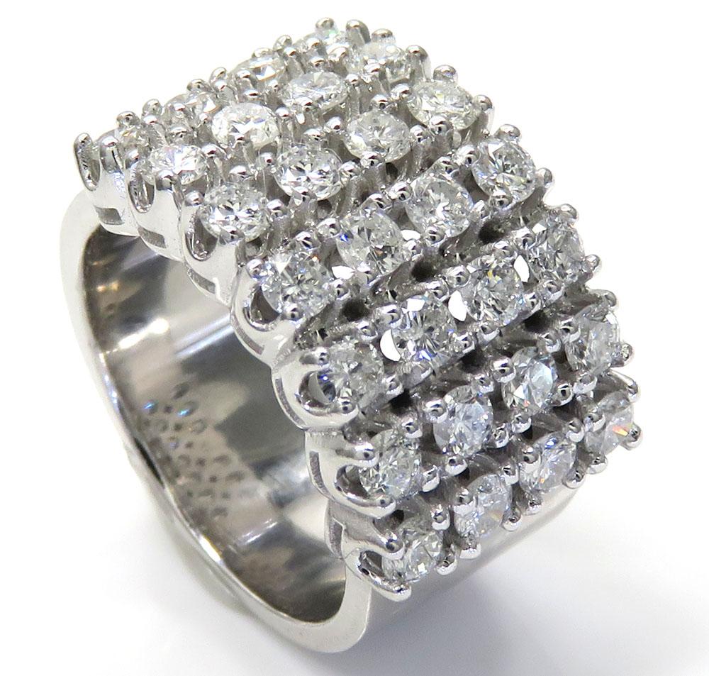 1.75ct 14k solid white gold diamond