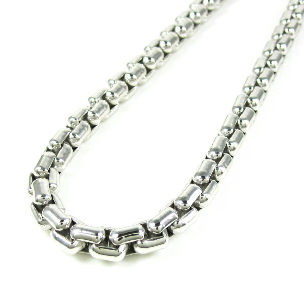 Buy 925 Sterling Silver Box Link Chain 22 Inch 5 80mm Online At So Icy Jewelry