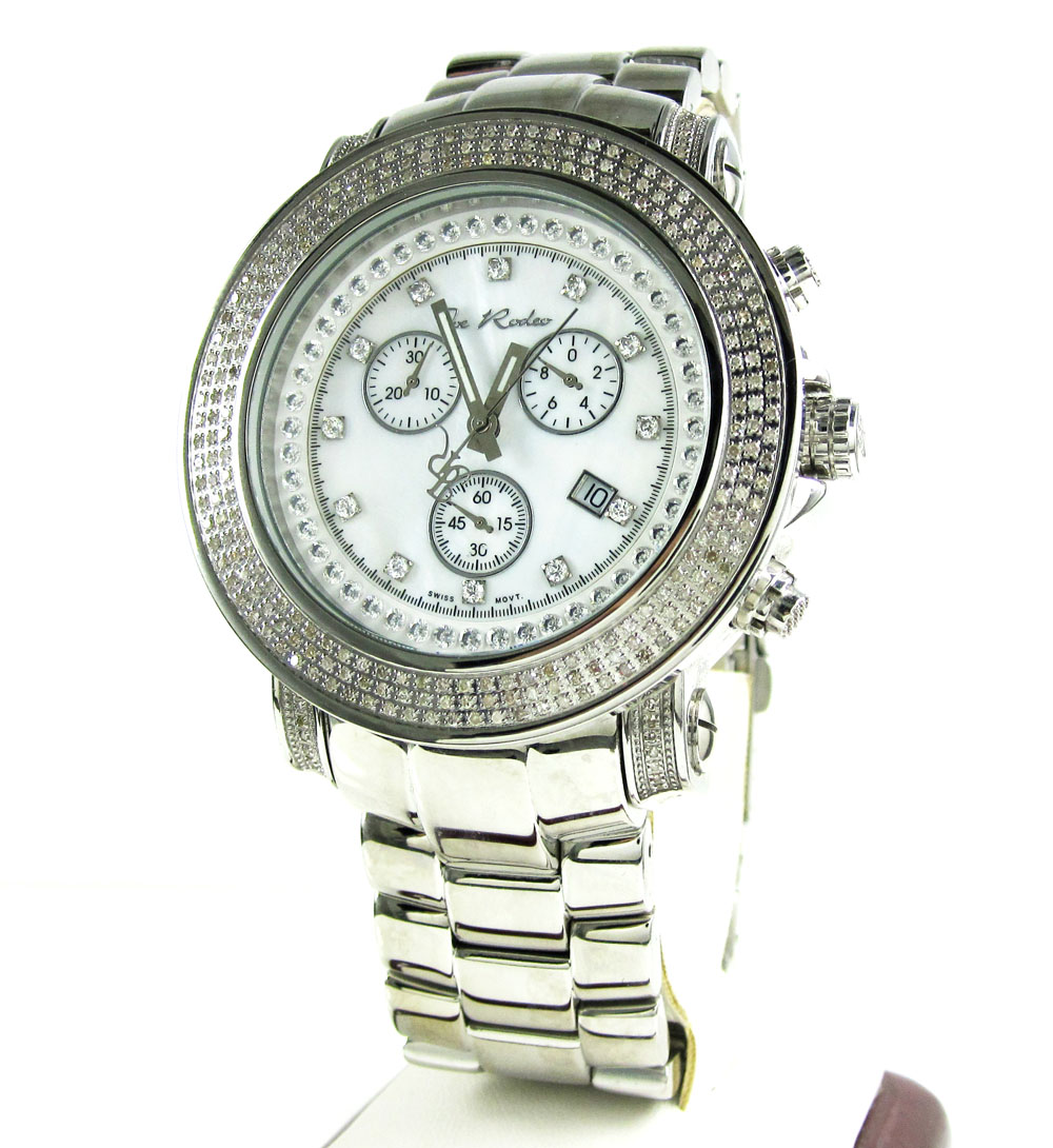 Joe Rodeo Junior Diamond Watch JJU4 2.50CT