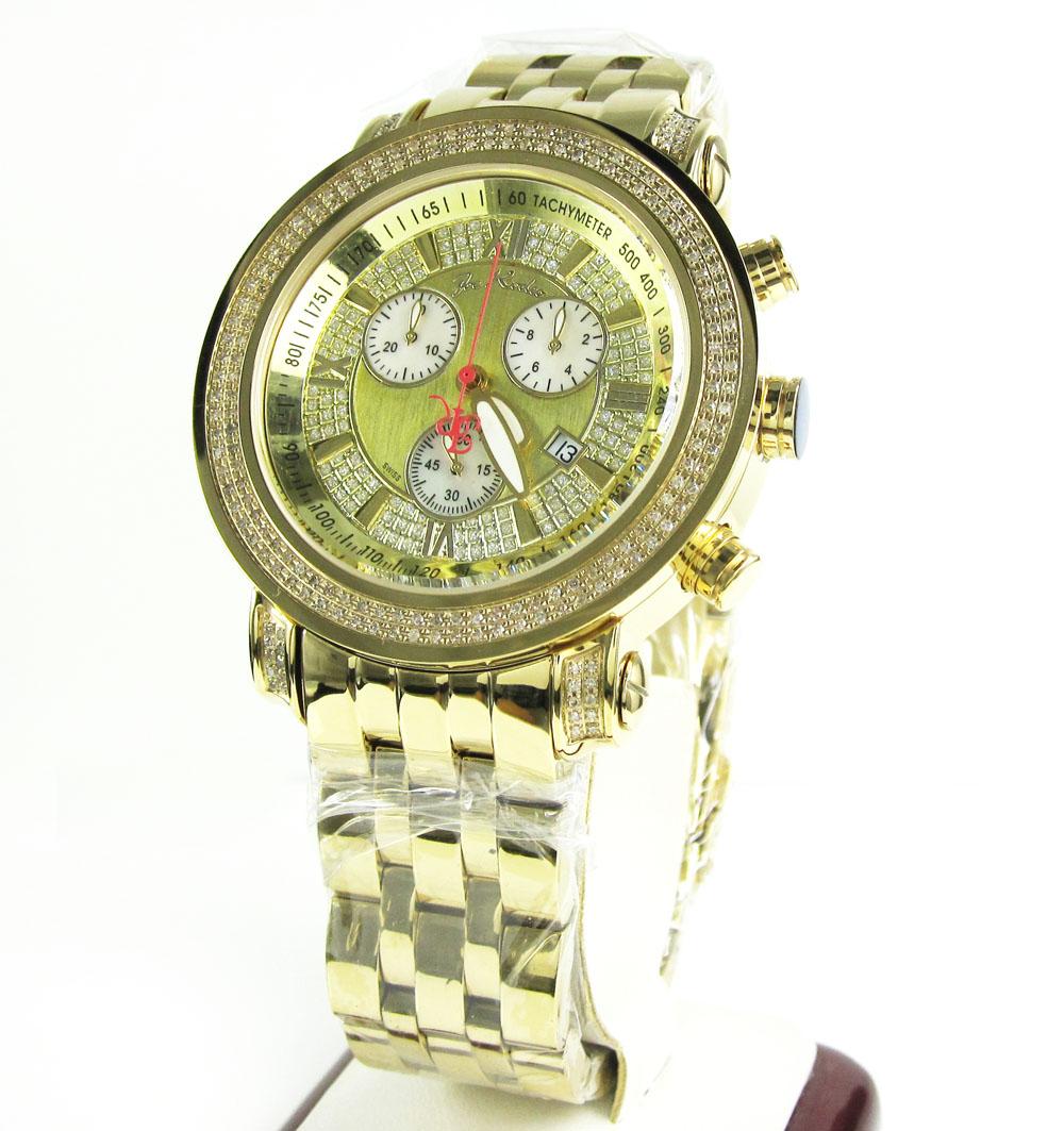 Joe rodeo tyler diamond yellow watch jty1 2.00ct