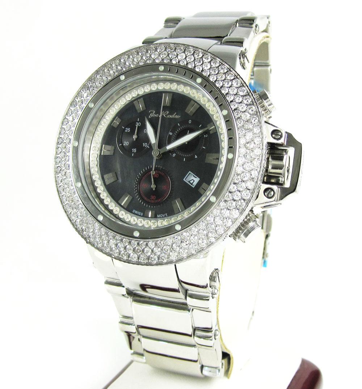 Joe rodeo razor diamond watch jror17 7.20ct