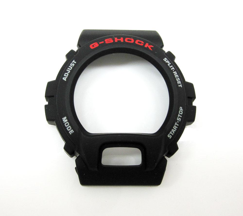 Black rubber g-shock case dw-6900