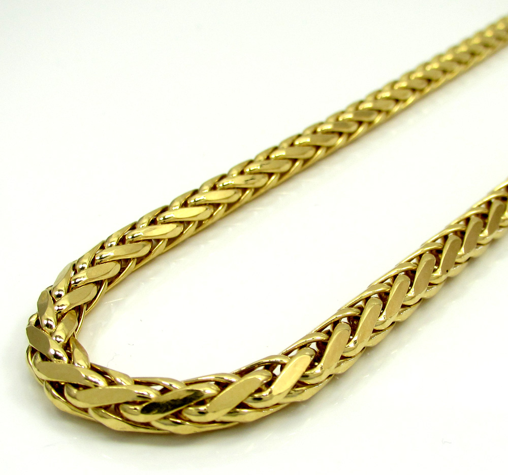 gold necklace cheap chain stainless chains steel women not real link torque pattern