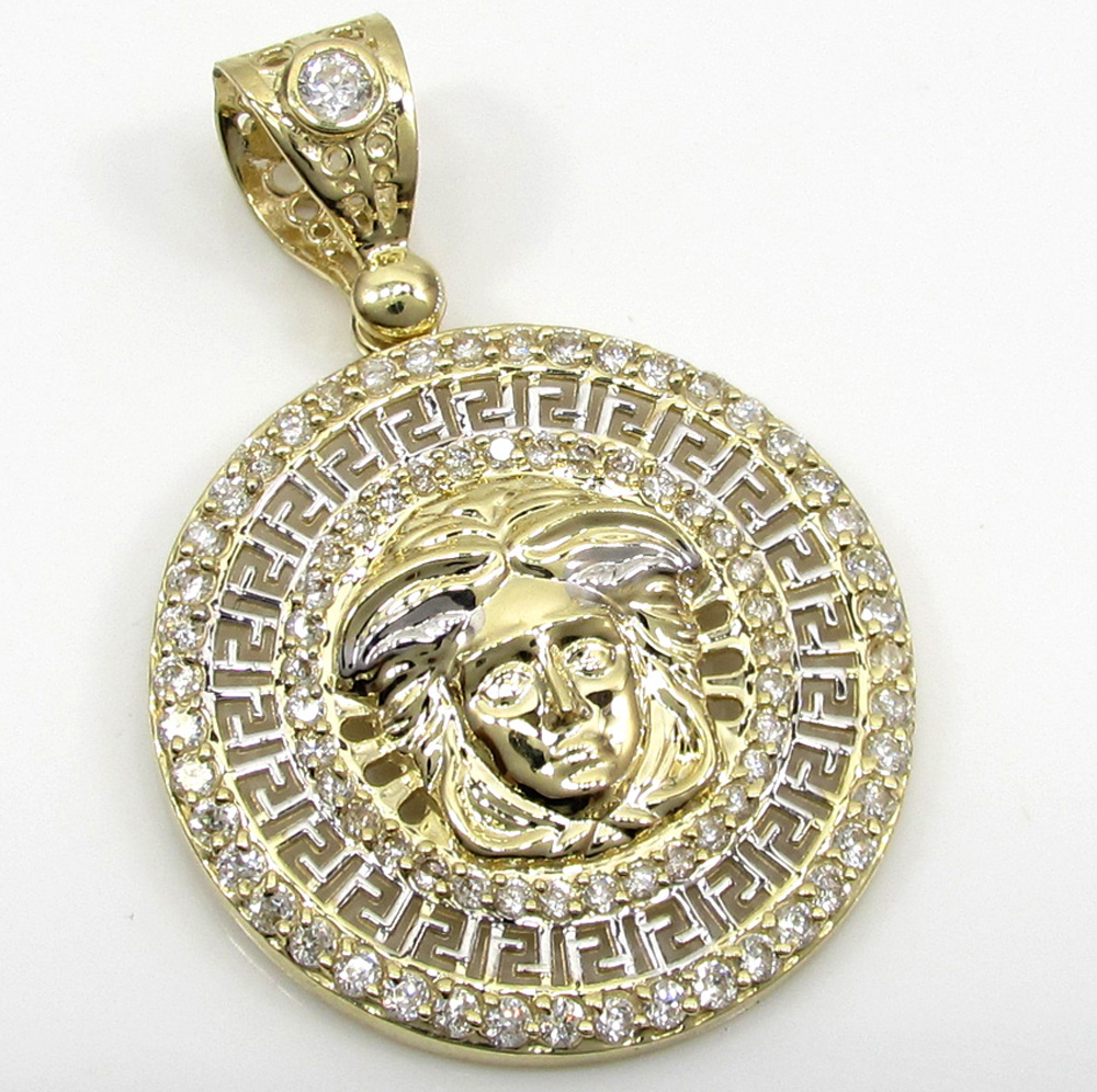 king gold s ct pendant diamonds johnny medusa